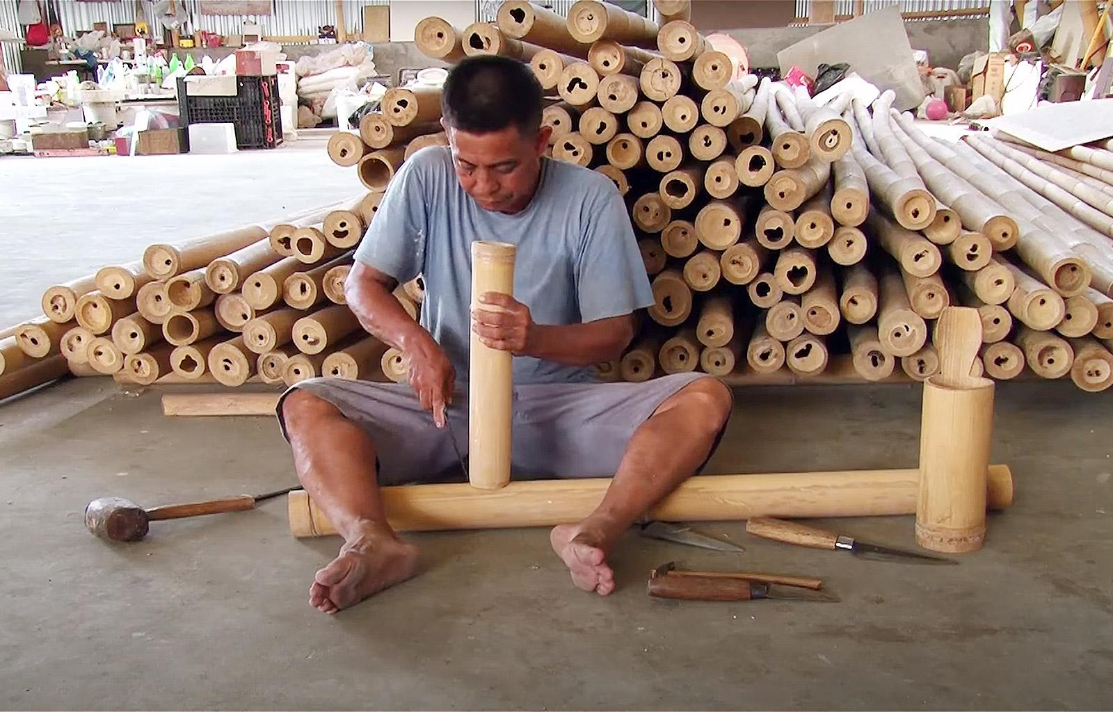 Asali Bali bamboo Studio in Bali