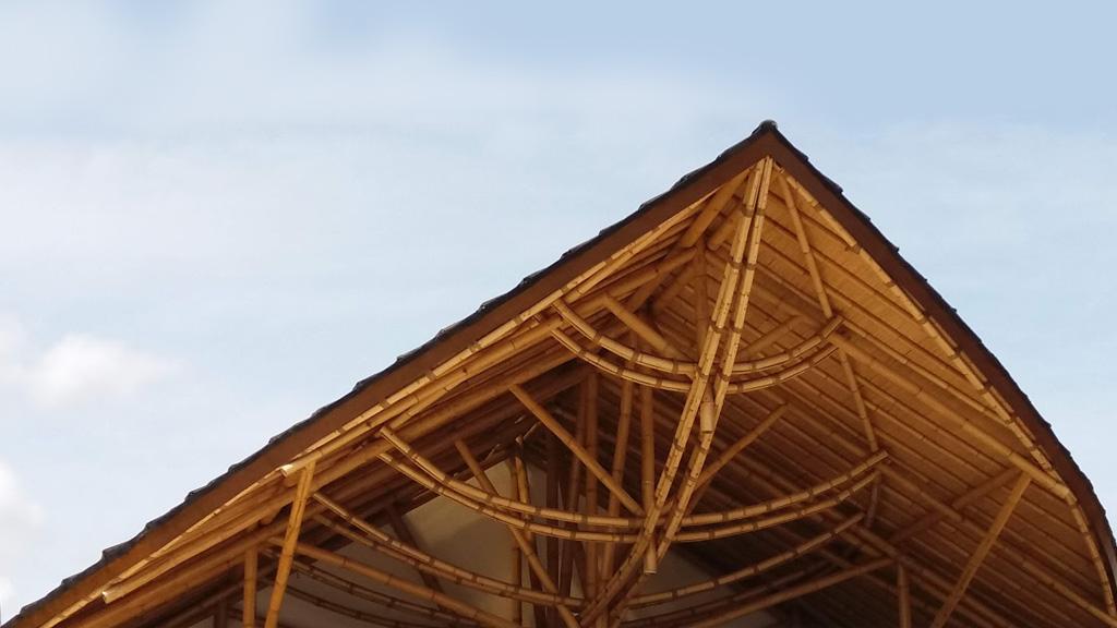 Alam Atelier bamboo School in Berawa, Bali, Indonesia by Asali Bali